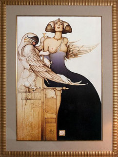 Aditi 1990 Limited Edition Print by Michael Parkes