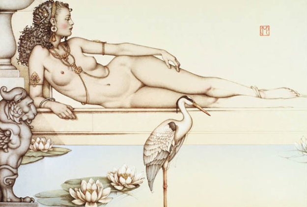 Oasis Limited Edition Print by Michael Parkes
