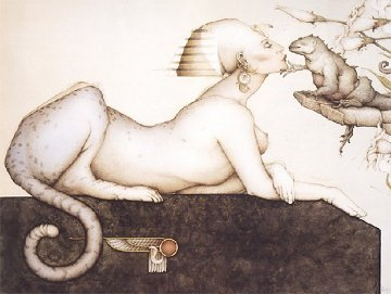 Sphinx 1988 Limited Edition Print by Michael Parkes