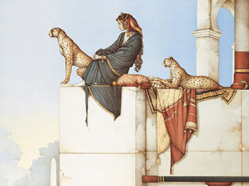 Persepolis 2000 Limited Edition Print by Michael Parkes