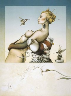 Nectar 1987 Limited Edition Print by Michael Parkes