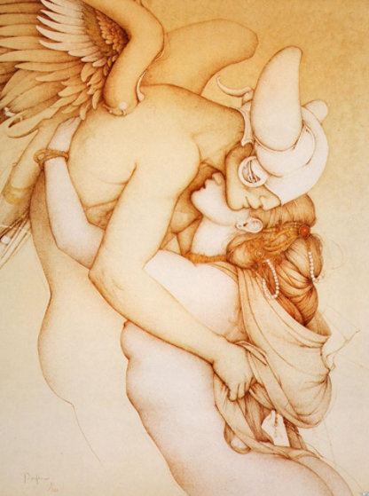 Savitri 1988 Limited Edition Print by Michael Parkes