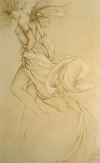 Startled Sky Nymph 2011 Limited Edition Print by Michael Parkes