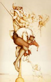 Petrouchka 1987 Limited Edition Print by Michael Parkes