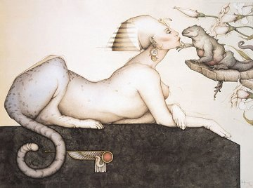 Sphinx 1988 Limited Edition Print - Michael Parkes