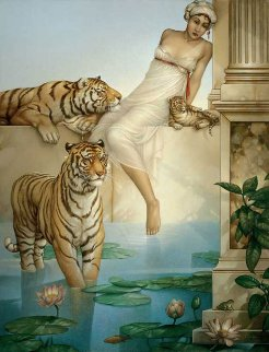 Indian Summer 2006 Limited Edition Print by Michael Parkes