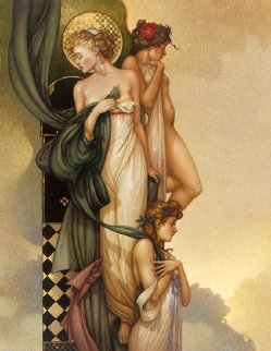 Three Graces 2005 Limited Edition Print by Michael Parkes