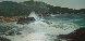 Untitled Seascape 29x53 Original Painting by Violet Parkhurst - 0