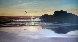 Carmel Beach, California 28x52 Original Painting by Violet Parkhurst - 0