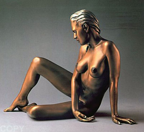 Timeless Innocence Nude Sculpture AP  1986 Sculpture by Ramon Parmenter