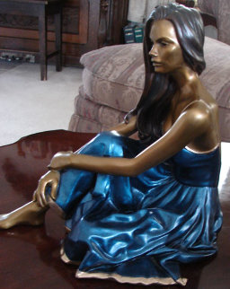 Serene Bronze Sculpture 2002 13 in Sculpture by Ramon Parmenter