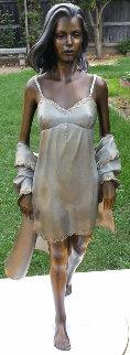 Summer Breeze Bronze Sculpture 1996 24 in Sculpture by Ramon Parmenter