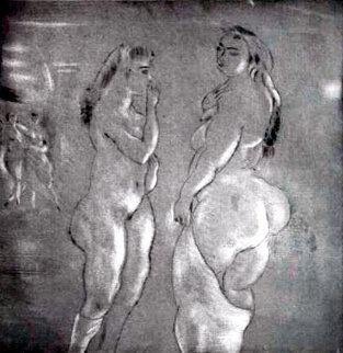 Comparaison 1929 Limited Edition Print - Jules Pascin