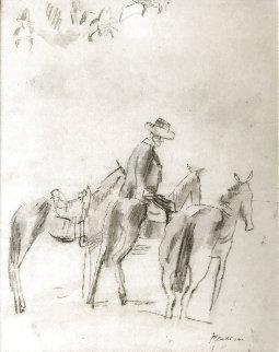 L'anier Drawing 1920 9x7 Drawing - Jules Pascin