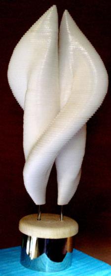 Hug Marble Sculpture 2010 30 in Sculpture by Jitendra Patel