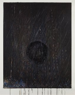 Waterfall Monoprint #25 55x43 Works on Paper (not prints) - Pat Steir