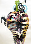 Zebra 2017 51x21 Works on Paper (not prints) - Dom Pattinson