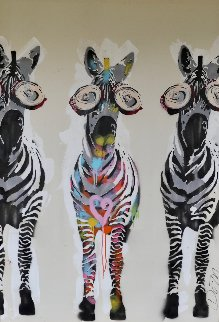Stand Out Stand Proud 2014 64x46 Original Painting by Dom Pattinson
