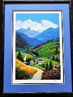 Mountain Road 2002 Limited Edition Print by Alex Pauker - 1