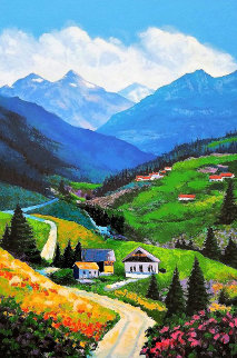 Mountain Road 2002 Limited Edition Print by Alex Pauker