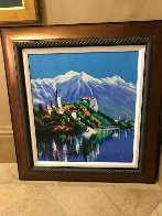 Bavarian Village 2003 Embellished Limited Edition Print by Alex Pauker - 1
