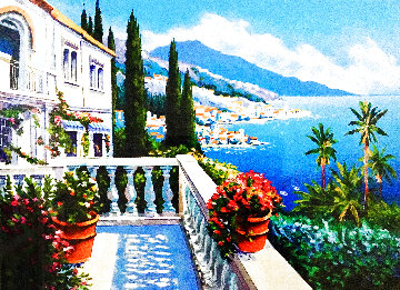 Terrace View AP 2002 Limited Edition Print - Alex Pauker