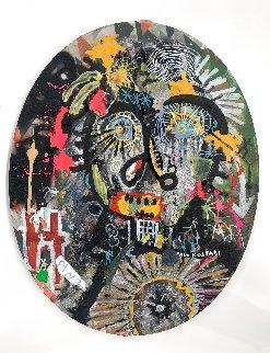 Do the Right Thing 2020 24x18 Original Painting - Paul Kostabi