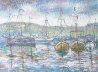 Sur le Port 32x41 Original Painting by Paul Emile Pissarro - 0