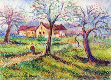 Untitled Pastel Works on Paper (not prints) - Paul Emile Pissarro