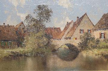 Untitled Painting 2017 35x46 Original Painting - Erich Paulsen