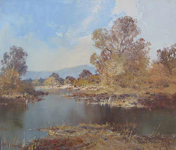 Still Waters 27x31 Original Painting - Erich Paulsen