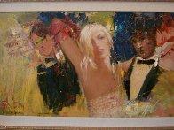 Night At the Ball 2011,27x42 Original Painting by Misti Pavlov - 2