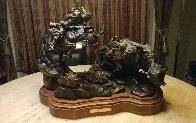 Injun Ways Bronze 1990 29 in Sculpture by Ken Payne - 1