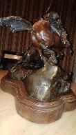 Injun Ways Bronze 1990 29 in Sculpture by Ken Payne - 2
