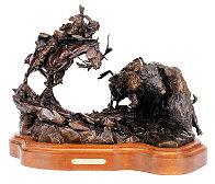 Injun Ways Bronze 1990 29 in Sculpture by Ken Payne - 0