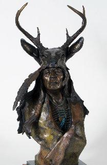 Many Deer Bronze Sculpture 1995 26 in Sculpture by Ken Payne