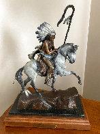 War Horse Bronze Sculpture  1991 18 in Sculpture by Ken Payne - 0