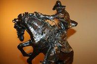 Surprise Meeting Bronze Sculpture 1983 22 in Sculpture by Ken Payne - 5