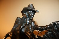 Surprise Meeting Bronze Sculpture 1983 22 in Sculpture by Ken Payne - 6