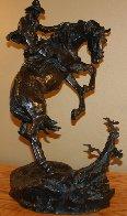 Surprise Meeting Bronze Sculpture 1983 22 in Sculpture by Ken Payne - 1
