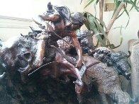 A Priceless Robe Bronze Sculpture 1990 23 in Sculpture by Ken Payne - 8