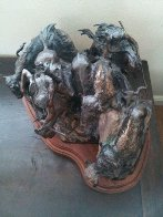 A Priceless Robe Bronze Sculpture 1990 23 in Sculpture by Ken Payne - 9