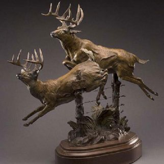 Another Year to Grow Bronze Sculpture 16 in Sculpture - Vic Payne