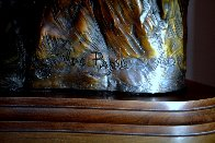 One Stormy Day Bronze Sculpture 1995 31 in Sculpture by Vic Payne - 6