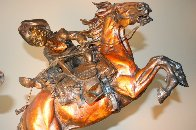 One Stormy Day Bronze Sculpture 1995 31 in Sculpture by Vic Payne - 3