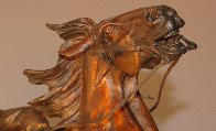 One Stormy Day Bronze Sculpture 1995 31 in Sculpture by Vic Payne - 4