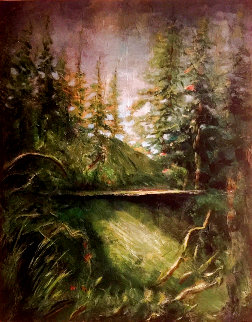 Treasured Walk 2019 30x24 Original Painting - Connie Pearce