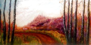 Morning Blush 2020 18x36 Original Painting - Connie Pearce