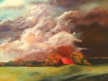 Red Barn 2020 Limited Edition Print - Connie Pearce