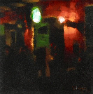 Pat O'Briens 2008 18x18 Original Painting - Matthew Peck